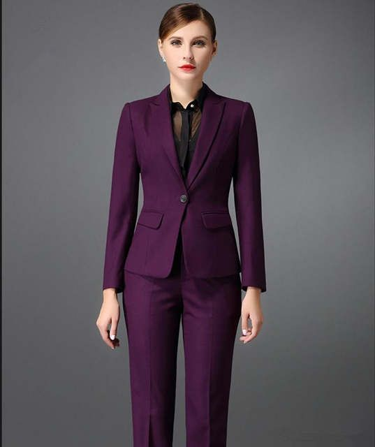 Female Pants Suits Online Shopping