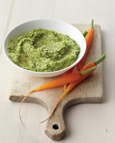 Minty Pea Dip - Whole Living Eat Well