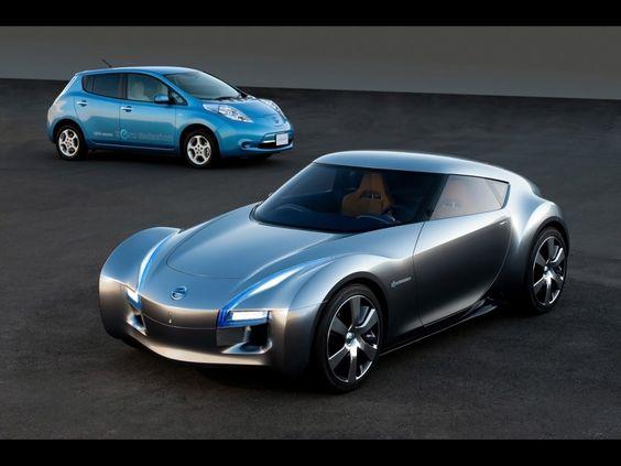 Concept Cars 2000: ESFLOW Concept 2011 Nissan Electric Sports Cars