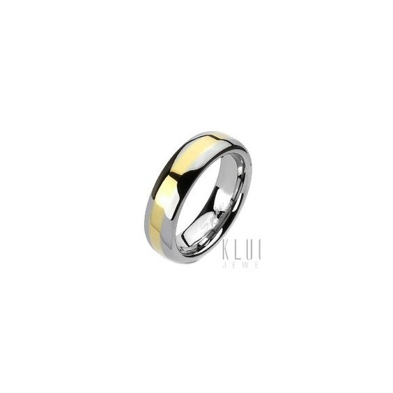 Material: Tungsten Measures in mm: 8mm wide Measures in inch: 1/4-inch wide Stamped: tungsten Comfort fit Ring Size: 14