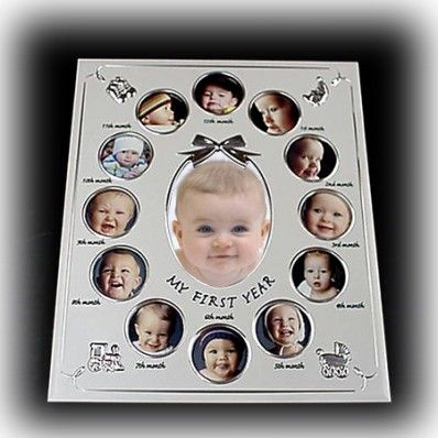 My First Year - Baby Collage Frame | Nuptial Knick Knacks A great ...