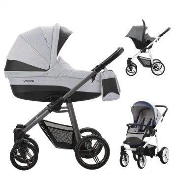 Pin By Izabela On Wozki Dzieciece Baby Strollers Baby Vulcano