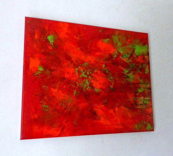 D co art and d coration on pinterest - Tableau vert anis ...