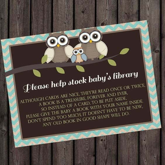 I Love The Wording And Idea! Bring A Book Instead Of A Card Insert Baby By  AmysSimpleDesigns, $6.00   Itu0027s A Boy   Pinterest   Babies, Books And Baby  Showeu2026
