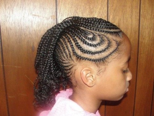 Fine Kid Braid Styles Kid And African American Braided Hairstyles On Short Hairstyles Gunalazisus