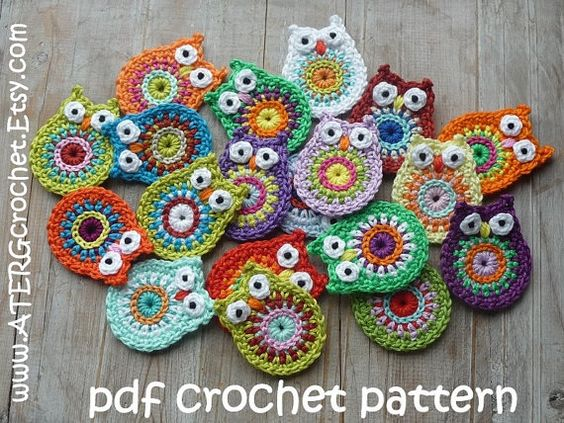 Crochet Stitches Key : Crochet patterns, Key rings and Owl on Pinterest