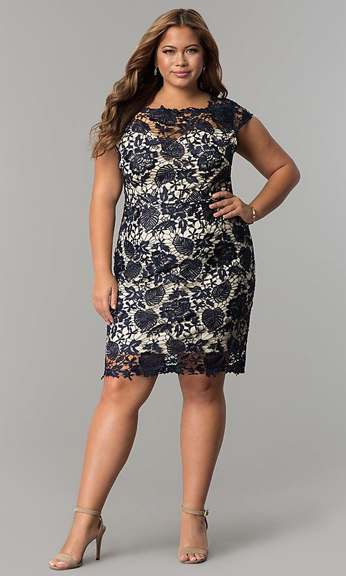Leota | Short Sleeve Catherine Dress Plus Size | Plus size