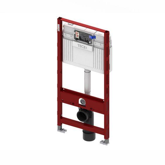 TECE profil WC-Modul mit TECE-Spülkasten, Betätigung von vorne, Bauhöhe 112 cm - 9300000 | Reuter Onlineshop
