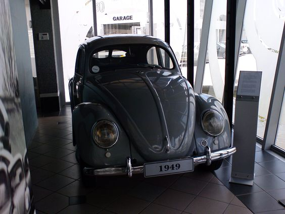 On display at the VW Factory in South Africa