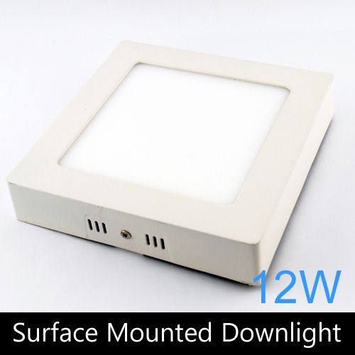 (Buy here: http://appdeal.ru/27my ) Modern design 12W LED ceiling or wall surface mounted downlight / square panel light kitchen light 172mm 1pc/lot free shipping for just US $46.50