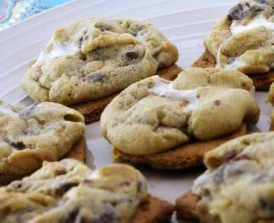 campfire cookies | Camping clues | Pinterest | Campfire Cookies ...