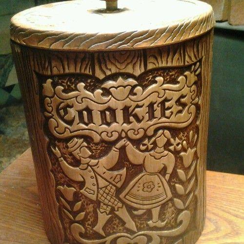 Treasure Craft Cookie Jar made in USA