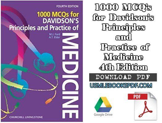 Download 1000 Mcq S For Davidson S Principles Practice Of Medicine 4th Edition Pdf Free Medicine Mcq Principles