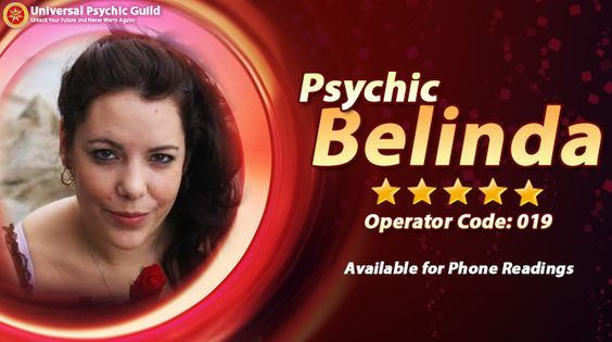 Psychic Belinda's : being a holistic mentor understudy has taught Belinda to keep a transparent preferential personality amid #psychicreadings, guaranteeing that the individuals who look for her help require not stress over being uncomfortable, regardless of the fact that it's their first time. She utilizes the information she got from the Heavenly attendants and Soul Advisers for assist individuals with picking the right way and exceed expectations in it.