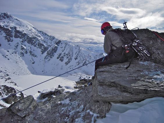 Second last pitch to summit