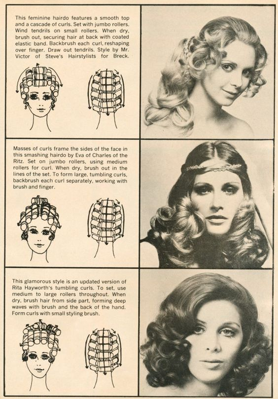 Hair setting pattern (bottom)