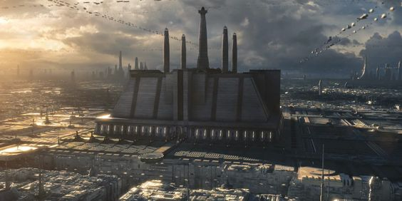 Galeria de A arquitetura de Star Wars: 7 estruturas icônicas - 7