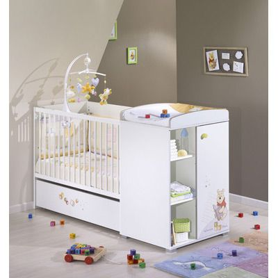 Lit b b junior volutif winnie l 39 ourson sense of discovery google and bebe for Armoire bebe winnie lourson 2