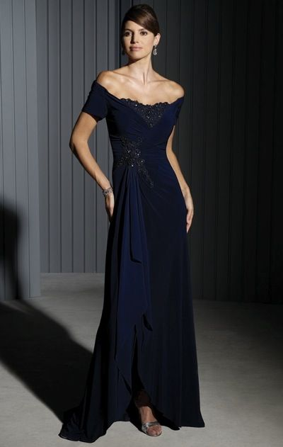 Jersey Evening Dress
