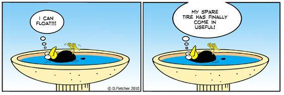 Crumb ❤ =^..^= ❤     Yes, indeedy, fat floats!