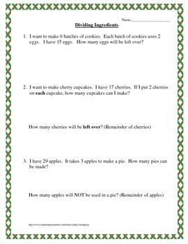 math worksheet : this is a series of relatively simple ision word problems  : Long Division Word Problems Worksheet