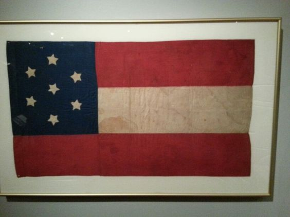 confederate flag american flag