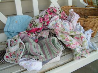 Custom baby memory blanket made from old baby clothes
