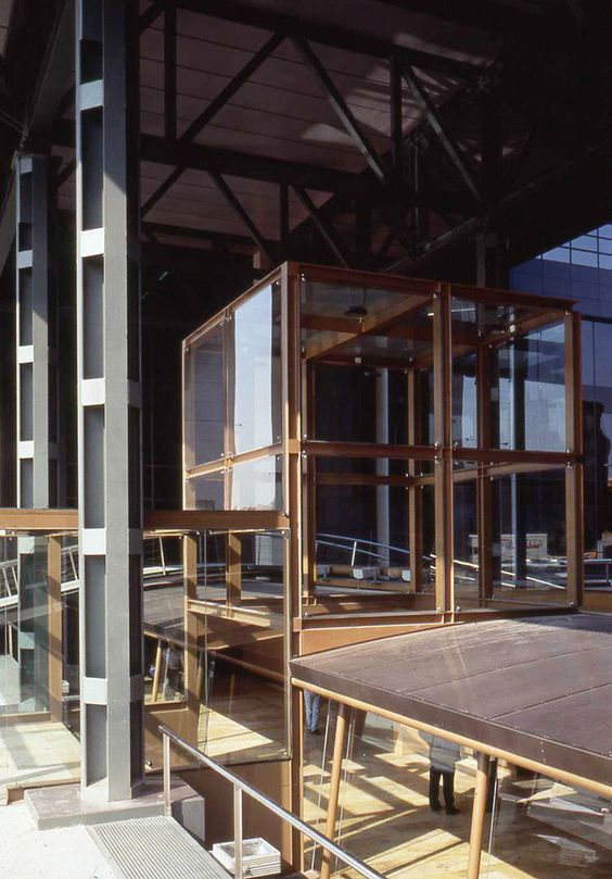Sede aresbank madrid 1994 allende arquitectos premio iii bienal de arquitectura office - Arquitectos interioristas madrid ...