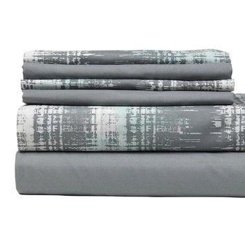 Colonial Textiles Texture Printed City Sheet Set