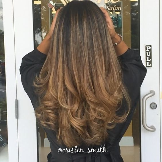 golden caramel balayage ombr hair make up nails. Black Bedroom Furniture Sets. Home Design Ideas