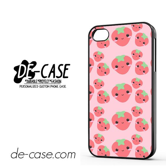 Cute Strawberry DEAL-2958 Apple Phonecase Cover For Iphone 4 / Iphone 4S