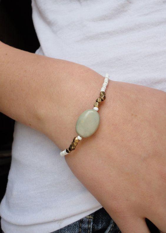 The Vår Bracelet by TheOldMasonJar on Etsy, $12.00