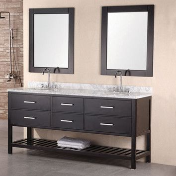Photos Of  ud double vanity can go up to ud drawers open Double Sink VanityDouble Bathroom