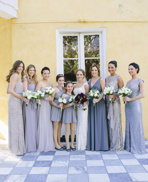 The Best Mismatched Bridesmaid Dresses to Make Your Ladies Stand Out
