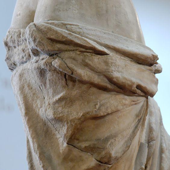 Detalle de la prenda que porta la Venus de Milo