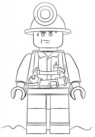 Lego City Para Colorear Ausmalbilder Ausmalen Malvorlagen