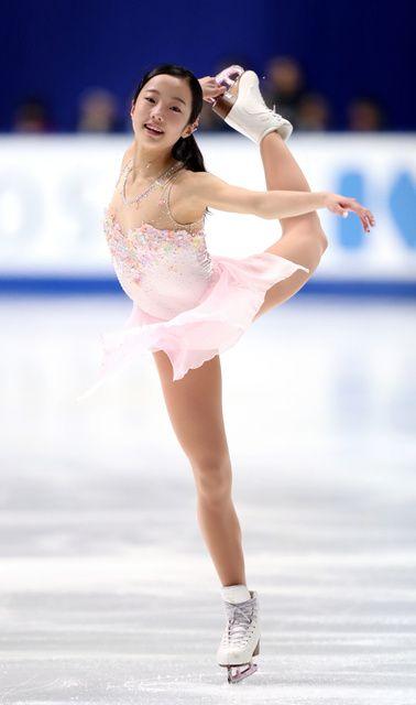 本田真凜のピンク