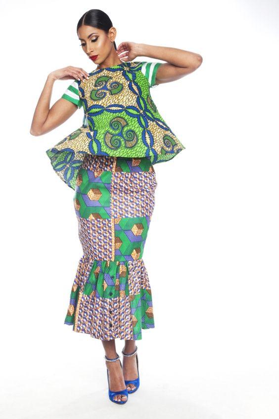 Parmi les marques dont la créativité et le sens artistique ne nous déçoivent jamais, il y a Kaela Kay, créée par la designer Catherine Addai. Basée aux Etats-Unis, la marque Kaela Kay a fait de sa spécialité l'utilisation d'imprimés africains mixés avec d'autres styles d'imprimés (rayures, pois,…) Là où certains osent très peu ce genre ...: