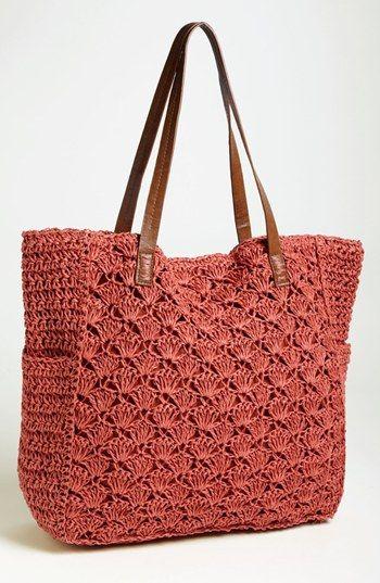 Crochet Nordstrom Bag Pattern : Gypsy Travel Totes & Bags Serafini Amelia Straw Studios ...