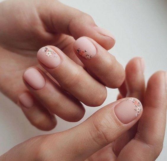 Красивый маникюр на короткие ногти 2019-2020: фото идеи маникюра на короткие ногти #Идеи #короткие #красивый #маникюр #маникюра #на #ногти #фото