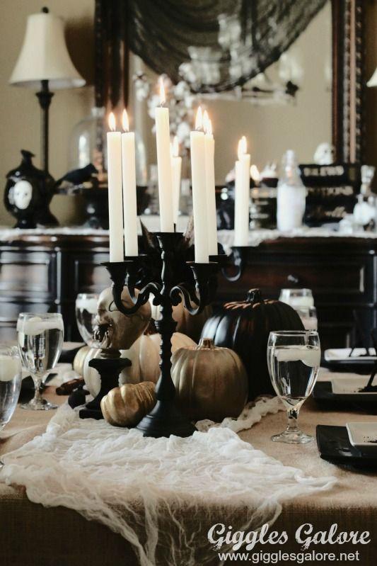 Black Candelabra Murder Mystery Dinner Party: