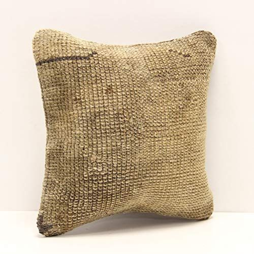 Throw Kilim Pillow Cover 12x12 Inch Bohemian Turkish Chair Interiror Design Rustic Handmade Accent Small Deco In 2020 Pillows Copper Cushions Decorative Cushion Covers