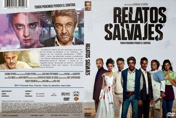 2014 Relatos salvajes DvD