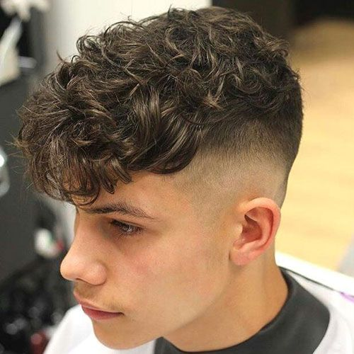 40 Best Perm Hairstyles For Men 2020 Styles In 2020 Wavy Hair Men Curly Hair Fade Permed Hairstyles