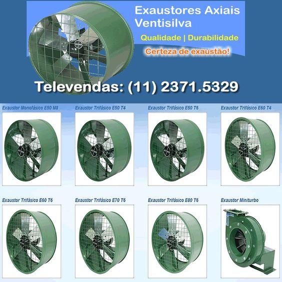 EXAUSTORES PARA COZINHA INDUSTRIAL - http://www.ventiladoresventisilva.net