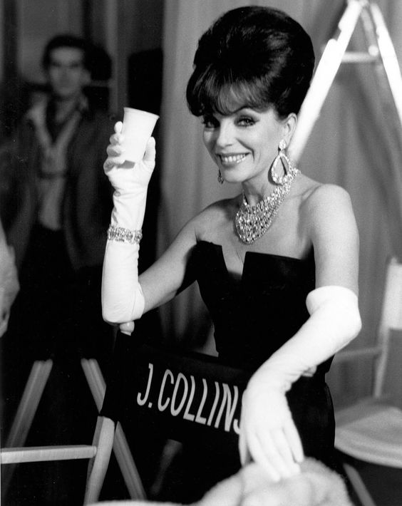 Joan Collins in mini-series, Sins, she developed and starred in for CBS in 1986.