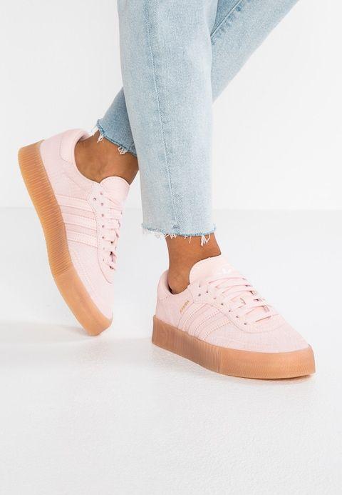 adidas Originals SAMBAROSE - Sneakers laag - ice pink ...