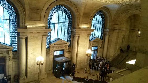 The New York Public Library (Stephen A. Schwarzman Building)lies alongside…
