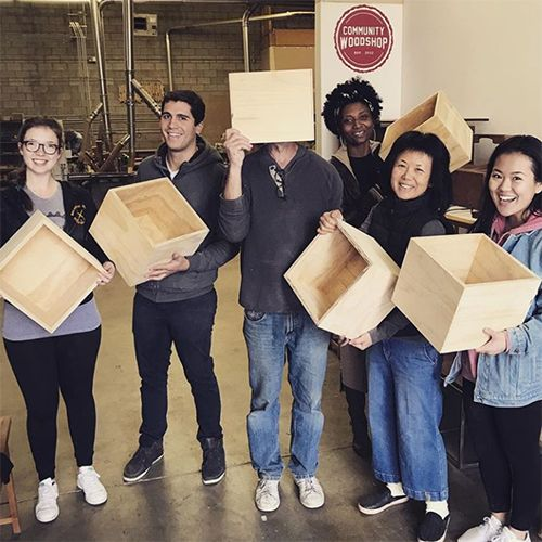 Learn How To Make Plywood Boxes At Community Woodshop In Los Angeles Ca Plywood Boxes Wood Shop Woodworking Classes