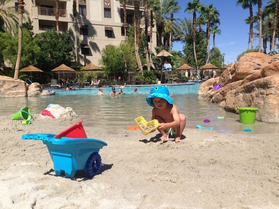 Tahiti village on south las vegas blvd wins our vote for - Child friendly hotels swimming pool ...